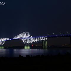 若洲公園から東京ゲートブリッジを眺めよう | OSCA PHOTO WORKS