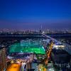 タワーホール船堀から見える絶賛の夜景 | OSCA PHOTO WORKS