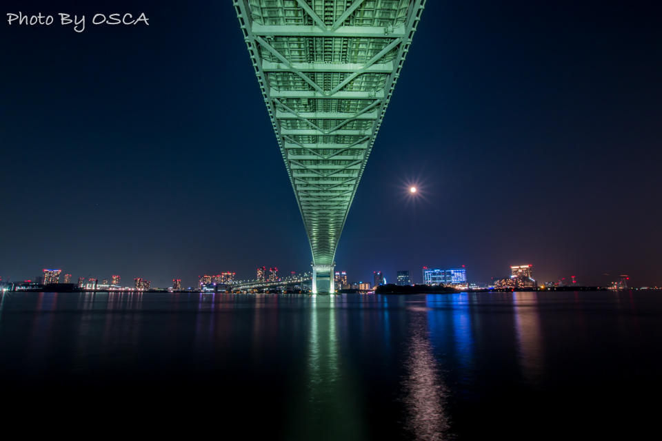 レインボーブリッジの夜景を楽しむ散歩をしよう (3.芝浦南ふ頭編) | OSCA PHOTO WORKS