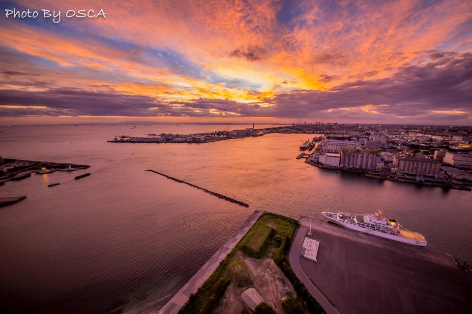 日本夜景遺産認定の千葉ポートタワーの夜景 | OSCA PHOTO WORKS